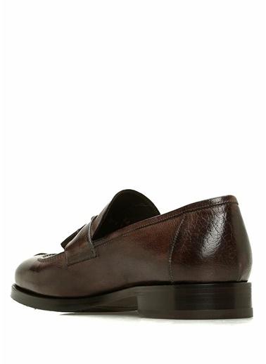 Beymen Collection Deri Loafer Ayakkabı Kahve